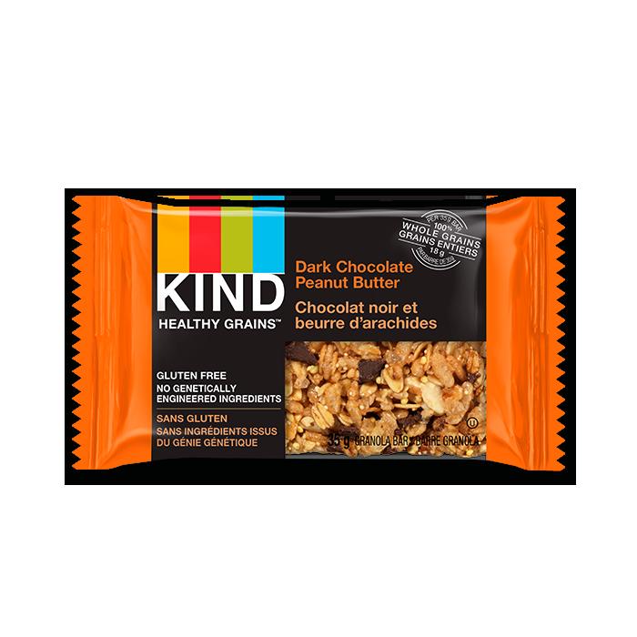 KIND Healthy Grains Dark Chocolate Peanut Butter Bar