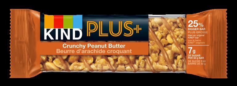 KIND Plus Crunchy Peanut Butter Bar