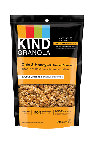 KIND Granola Oats & Honey with Toasted Coconut